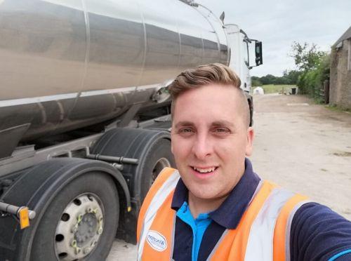 Darren Kasapi Driver Apprentice at Wincanton